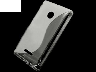 ПРОЗИРАЩ СИЛИКОНОВ ПРОТЕКТОР ЗА MICROSOFT LUMIA 435 / Dual SIM RM-1070 - Transparent