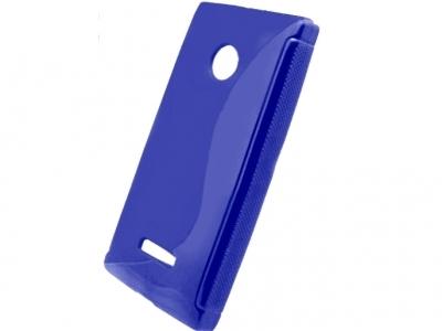 SILICON PROTECTOR για το Microsoft LUMIA 435 / Dual SIM RM-1070 - Ultramarine