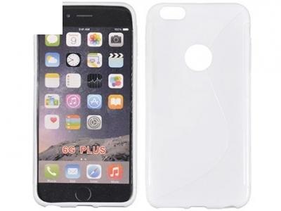 СИЛИКОНОВ ПРОТЕКТОР ЗА iPhone 6 Plus 5.5-inch - White