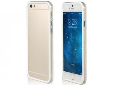СТРАНИЧЕН ПРОТЕКТОР ЗА iPhone 6 4.7-inch BUMPERS - White