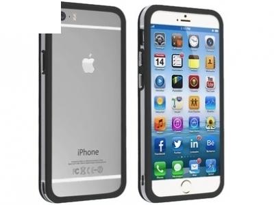 СТРАНИЧЕН ПРОТЕКТОР ЗА iPhone 6 4.7-inch BUMPERS - Black