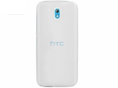 УЛТРА ТЪНЪК ПРОЗРАЧЕН СИЛИКОНОВ ПРОТЕКТОР ЗА HTC DESIRE 526G+  - Transparent