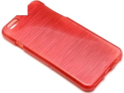 ПРОЗИРАЩ СИЛИКОНОВ ПРОТЕКТОР ЗА iPhone 6 4.7-inch - Red