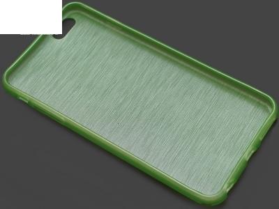 ПРОЗИРАЩ СИЛИКОНОВ ПРОТЕКТОР ЗА iPhone 6 Plus 5.5-inch - Green
