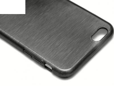ПРОЗИРАЩ СИЛИКОНОВ ПРОТЕКТОР ЗА iPhone 6 Plus 5.5-inch - Black