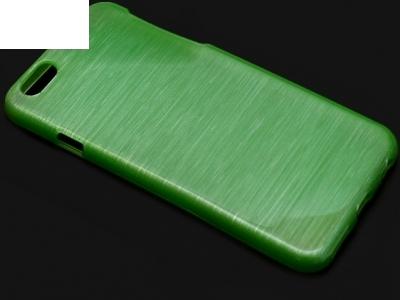 ПРОЗИРАЩ СИЛИКОНОВ ПРОТЕКТОР ЗА iPhone 6 4.7-inch - Green