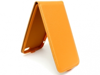 КАЛЪФ ТЕФТЕР ЗА iPhone 6 Plus 5.5-inch - Orange Pearl