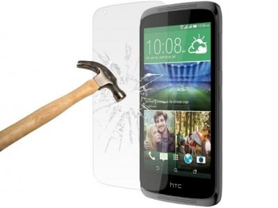 СТЪКЛЕН УДАРОУСТОЙЧИВ СКРИЙН ПРОТЕКТОР ЗА HTC DESIRE 526G+ Dual SIM
