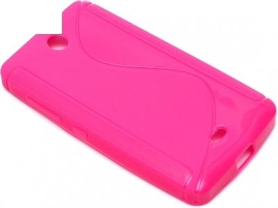 SILICON PROTECTOR για το Microsoft LUMIA 430 / Dual SIM RM-1066 RM-1067 RM-1099 - Ροζ