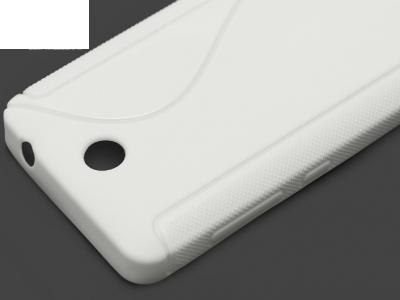 СИЛИКОНОВ ПРОТЕКТОР ЗА MICROSOFT LUMIA 430 / Dual SIM RM-1066 RM-1067 RM-1099 - White