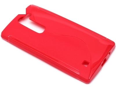 СИЛИКОНОВ ПРОТЕКТОР ЗА LG Magna H502F H500F - Red