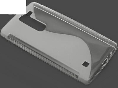 ПРОЗИРАЩ СИЛИКОНОВ ПРОТЕКТОР ЗА LG Magna H502F H500F - Transparent