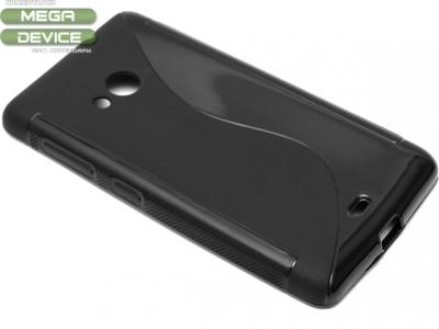 СИЛИКОНОВ ПРОТЕКТОР ЗА MICROSOFT LUMIA 535 / 535 Dual SIM RM-1090/1092 - Black