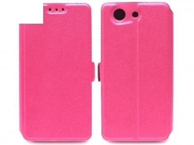 УЛТРА ТЪНЪК КАЛЪФ ТЕФТЕР ЗА SONY D5803 D5833 XPERIA Z3 Compact - Pink