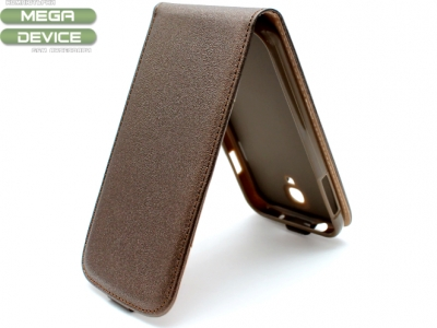 КАЛЪФ ТЕФТЕР ЗА SAMSUNG GALAXY S4 i9500 - Brown Pearl