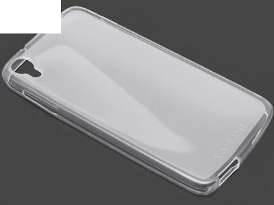 ПРОЗИРАЩ СИЛИКОНОВ ПРОТЕКТОР ЗА ALCATEL ONE TOUCH IDOL 3 4.7-inch - Transparent