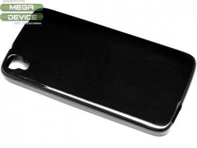 СИЛИКОНОВ ПРОТЕКТОР ЗА ALCATEL ONE TOUCH IDOL 3 4.7-inch - Black