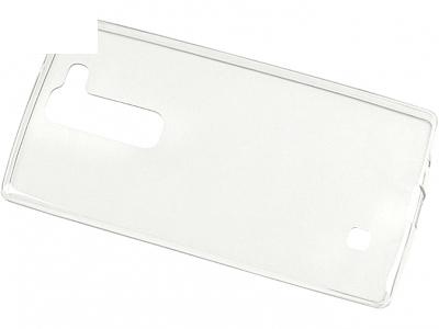 УЛТРА ТЪНЪК ПРОЗРАЧЕН СИЛИКОНОВ ПРОТЕКТОР ЗА LG Magna H502F H500F - Transparent