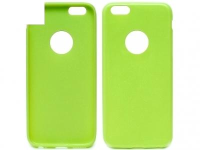 УЛТРА ТЪНЪК БЛЕСТЯЩ СИЛИКОНОВ ПРОТЕКТОР ЗА iPhone 6 4.7-inch - Lime