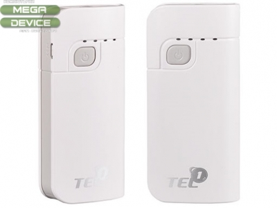 UNIVERSAL BATTERY Power Bank Tel1 6000mAh WITH LED фенерче