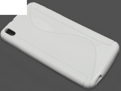 СИЛИКОНОВ ПРОТЕКТОР ЗА HTC DESIRE 816 - White