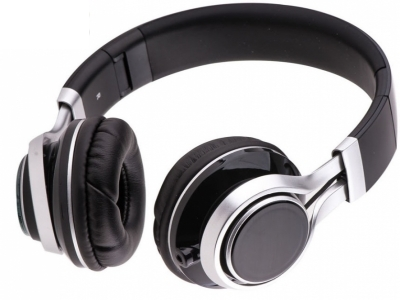 HEADPHONES WITH MICROPHONE EXTRA BASS - Black