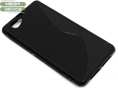 СИЛИКОНОВ ПРОТЕКТОР ЗА SONY XPERIA Z1 COMPACT D5503 - Black