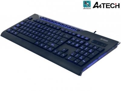 КЛАВИАТУРА  A4Tech KD800 USB - Black