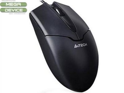 МИШКА A4 Tech OP-550N V-TRACK USB - Black