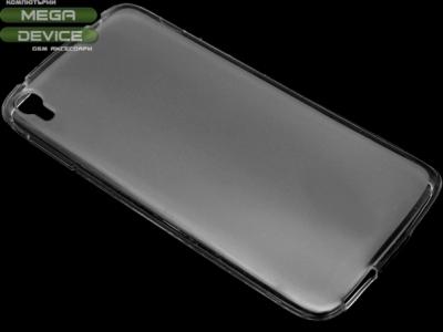 ПРОЗИРАЩ СИЛИКОНОВ ПРОТЕКТОР ЗА ALCATEL ONE TOUCH IDOL 3 5.5-inch - Transparent