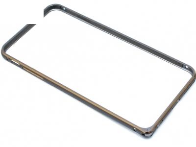 МЕТАЛЕН СТРАНИЧЕН ПРОТЕКТОР BUMPERS ЗА iPhone 6 / 6S Plus 5.5-inch - Black