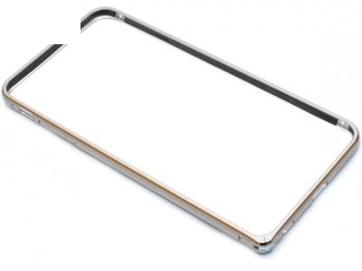 МЕТАЛЕН СТРАНИЧЕН ПРОТЕКТОР BUMPERS ЗА iPhone 6 / 6S Plus 5.5-inch - Silver