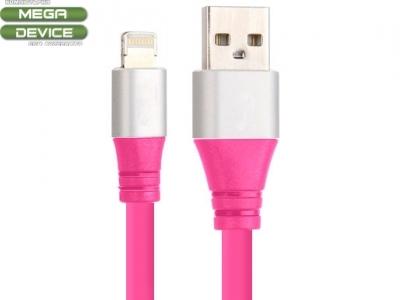 USB КАБЕЛ ЗА iPad 4 Air / Mini 1, 2, 3 - Pink