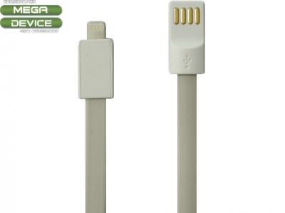 USB КАБЕЛ ЗА iPad 4 Air / Mini 1, 2, 3 - Grey