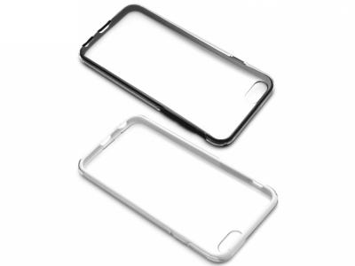 ПРОЗРАЧЕН ПРОТЕКТОР ОТ 3 МОДУЛА ЗА iPhone 6 / 6s 4.7-inch - Black / White