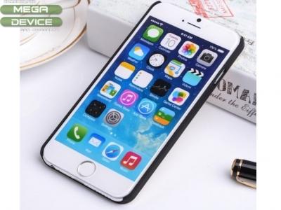 PVC ПРОТЕКТОР С МЕТАЛЕН ГРЪБ Motomo ЗА iPhone 6 / 6s 4.7-inch - Gold
