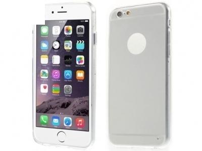 ПРОЗРАЧЕН СИЛИКОНОВ ПРОТЕКТОР ЗА iPhone 6 Plus / 6s Plus 5.5-inch - Silver