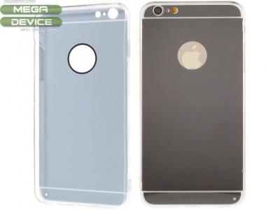 ПРОЗРАЧЕН СИЛИКОНОВ ПРОТЕКТОР ЗА iPhone 6 Plus / 6s Plus 5.5-inch - Grey