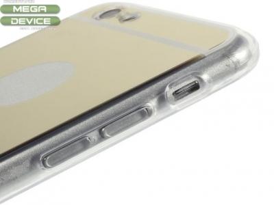 ПРОЗРАЧЕН СИЛИКОНОВ ПРОТЕКТОР ЗА iPhone 6 Plus / 6s Plus 5.5-inch - Gold