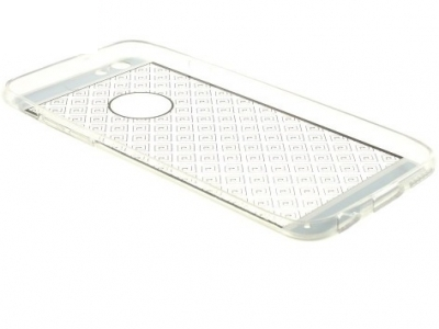 ПРОЗРАЧЕН СИЛИКОНОВ ПРОТЕКТОР ЗА iPhone 6 Plus / 6s Plus 5.5-inch - Gold Maze