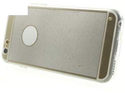 ПРОЗРАЧЕН СИЛИКОНОВ ПРОТЕКТОР ЗА iPhone 6 Plus / 6s Plus 5.5-inch - Gold Stripes