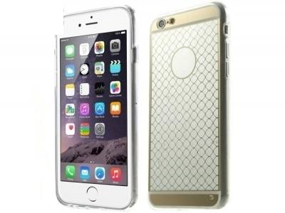 ПРОЗРАЧЕН СИЛИКОНОВ ПРОТЕКТОР ЗА iPhone 6 Plus / 6s Plus 5.5-inch - Gold Pattern
