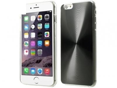PVC ГРЪБ VEINS CIRCLE ЗА iPhone 6 Plus / 6s Plus - Black