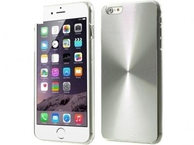 PVC ГРЪБ VEINS CIRCLE ЗА iPhone 6 Plus / 6s Plus - Silver