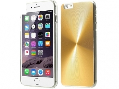 PVC ГРЪБ VEINS CIRCLE ЗА iPhone 6 Plus / 6s Plus - Gold