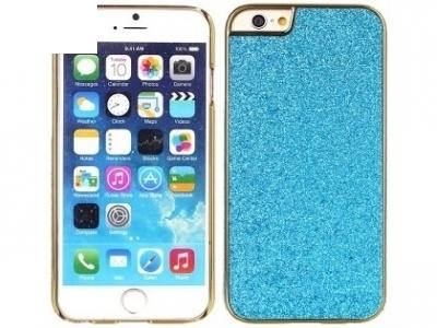 PVC ПРОТЕКТОР С БРОКАТ ЗА iPhone 6 Plus / 6s Plus - Blue