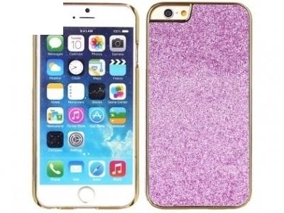 PVC ПРОТЕКТОР С БРОКАТ ЗА iPhone 6 Plus / 6s Plus - Purple