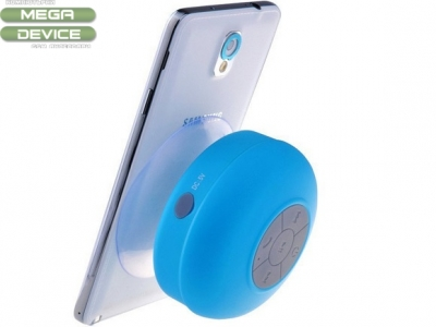 ВЛАГОУСТОЙЧИВА Bluetooth КОЛОНКА С ВЕНДУЗА - Blue