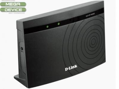 Рутер D-LINK GO-RT-N300 - Black