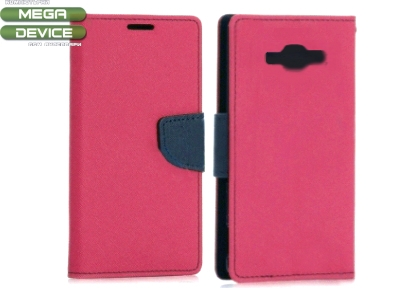 КАЛЪФ ТЕФТЕР Telone Fancy Case ЗА SAMSUNG GALAXY J1 SM-J100F - Pink / Dark Blue